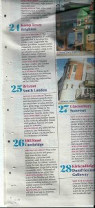Mill Road listed as 26th out of the top 30 places to live in Britain according to The Times