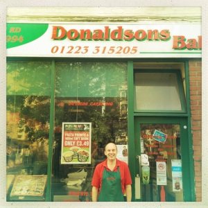 Donaldson's Bakery, 82 Mill Road, Cambridge, CB1 2AS