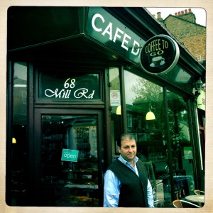 Cafe De Paris, 68 Mill Road, Cambridge, CB1 2AS