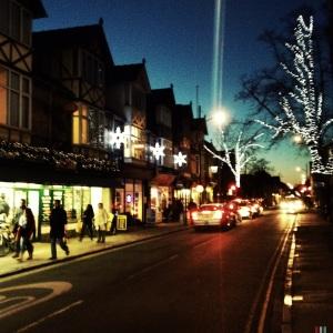 Mill Road Festive Lights 2013
