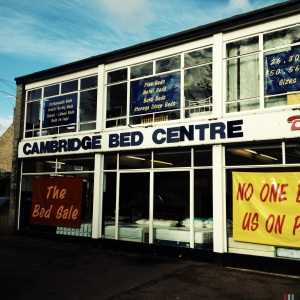 Cambridge Bed Centre, 213 Mill Road, Cambridge, CB1 3BE