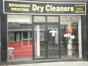 Broadway Dry Cleaners, 232 Mill Road, Cambridge, CB1 3NF
