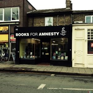 Books for Amnesty, 46 Mill Road, Cambridge, CB1 2AS