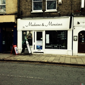 Madame & Monsieur, 76 Mill Road, Cambridge, CB1 2AS