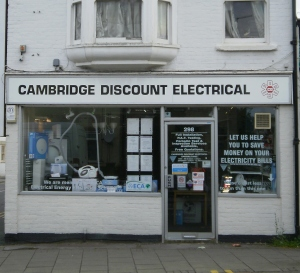 Cambridge Discount Electrical, 298 Mill Road, Cambridge, CB1 3NL