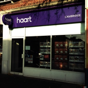Haart Lettings, 19 The Broadway, Mill Road, Cambridge, CB1 3AH