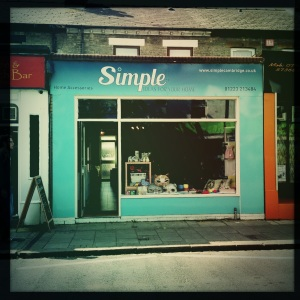 Simple, 228 Mill Road, Cambridge, CB1 3NF