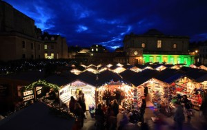 Christmas market in Bath