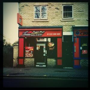 Pizza Hut Express, 83 Mill Road, Cambridge, CB1 2AW