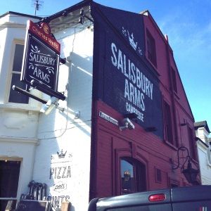 Salisbury Arms, 76 Tenison Road, Cambridge, CB1 2DW