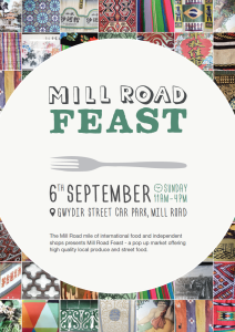 Mill Road Feast Sept 2015